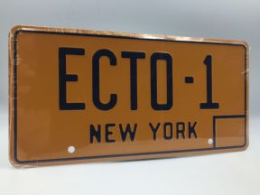 'Ecto-1' Ghostbusers  Licence Plate